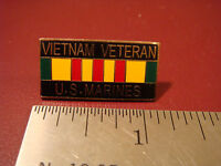 Vietnam Veteran U.S. Marines hat / lapel pin