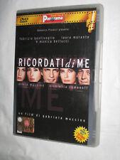 RICORDATI DI ME DVD EDITORIALE