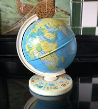 Chad Valley Tin Plate Political World Globe