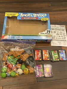 Angry Birds Mega Fling Game in Box Electronic Launcher Rovio Mattel