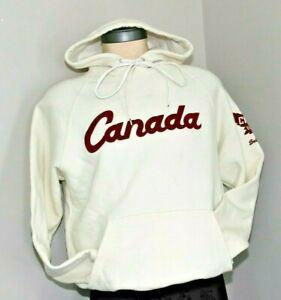 Roots Canada 2002 Olympics Hoodie Sweatshirt Salt Lake City Unisex Size XS, EUC