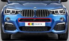 BMW X3 X4 14-16 NEW GENUINE FRONT M SPORT BUMPER UPPER CENTRE ICAM GRILL 8056939