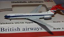JET-X 1/400 Vickers VC-10 BRITISH AIRWAYS G-ARVM