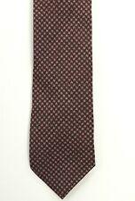 New Men/'s Store Bloomingdale/'s 100/% Wool Burgundy Woven Neck Tie Necktie Italy