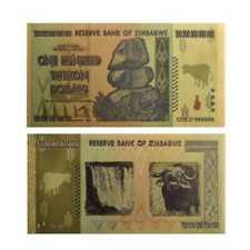 Zimbabwe 100 Trillion Dollar Banknote Non-circulating  World  Collection Bill