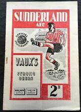 More details for sunderland v racing club de paris 1952/53
