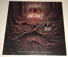 Bruce Campbell Hand Signed Evil Dead 2 Record Lp Waxworx Release Exact Proof