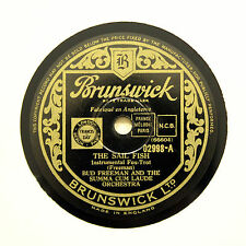 "BUD FREEMAN SUMMA CUM LAUDE ORCHESTRA ""The Sail Fish"" (E+) BRUNSWICK [78 RPM]"