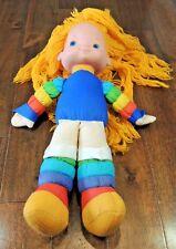 Vtg Mattel 1983 Rainbow Brite Hallmark Plush Stuffed Doll Classic Sprite Twinkle