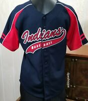MLB CLEVELAND INDIANS BASEBALL KID ATHLETE YOUTH 10/12 JERSEY BY GEN MERCHANDISE