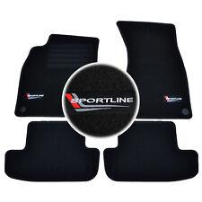 4 TAPIS SOL AUDI A5 S5 RS5 COUPE CABRIOLET 2007-UP MOQUETTE SPORTLINE SPECIFIQUE