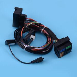 Module Bluetooth câble Faisceau de câblage & Microphone Fit For VW RNS510 RCD510