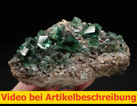 7884 Fluorit Galenit ca10*14*6 cm daylightflourescence UV Rogerley GB 2015 MOVIE