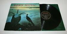 ROXY MUSIC 33 TOURS AVALON POLYDOR 2311 154 DE 1982