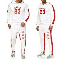 Mens Michael Air Legend 23 Jordan Tracksuit Hoodie&Pants Men Sweatshirts Hoodies