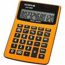 Olympia Lcd1000p Calculatrice Orange 6850-n