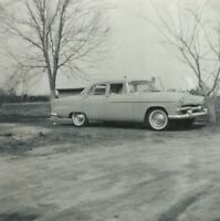 1955 Plymouth Belvedere Classic Car Glossy Vintage Snapshot Photo