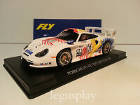 Slot car SCX Scalextric Fly A52 Porsche GT 1 Evo Daytona 98