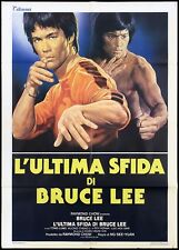L'ULTIMA SFIDA DI BRUCE LEE MANIFESTO FILM 1981 GAME OF DEATH II MOVIE POSTER 2F