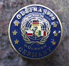 1998 NATO Military Army Exercises Olsina Munchen Munich Germany Pin Badge