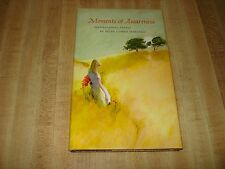 Awesome 1968 Vintage Hallmark book - Moments of Awareness by Helen L. Marshal