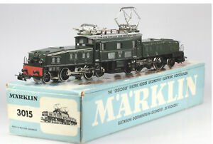 Märklin HO #3015 Swiss Crocodile Electric Locomotive, EX/BX, v11 1965-1975