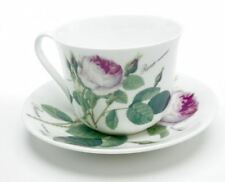 Roy Kirkham Redoute Rose Chatsworth Breakfast Cup and Saucer