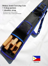 Arnis Authority Sports Case 30 inches long with adjustable strap [black/blue]