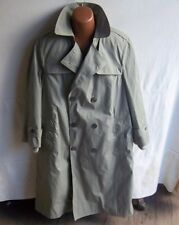 DSCP - Men's Military Green Valor Collection All Weather Trench Coat  - SIZE 42R