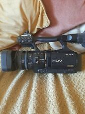 SONY HVR-V1E Lovely condition camera with battery and chargeHdv 1080i quick post