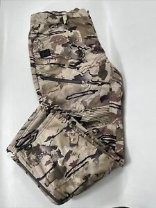 Under Armour Storm Barren Camouflage Mid-Season Pants 1355317-999 Size L $160 LG
