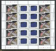 CANADA SHEET 1441-1442ph 42c x 20 CANADA IN SPACE 90% OF FACE