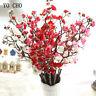 Artificial Flowers Plum Cherry Blossoms Fake Silk Wedding Home Desktable Decora