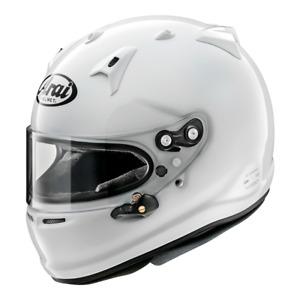 ARAI GP-7 FRP Car Motorsport White Racing Helmet