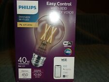 Philips Amber LED 40W Dimmable Smart Wi-Fi Wiz Connected Wireless