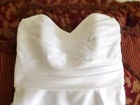 Alfred Angelo Wedding Gown, White, Size 6