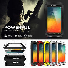 LOVE MEI Gorilla Glass Waterproof Shockproof Aluminum Metal Case Cover For Phone
