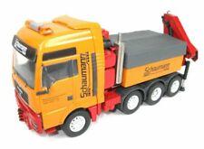 CONRAD 660022 MAN TGA XXL 8X4 TRUCK w/Ballast Box & Palfinger SCHAUMANN 1:50 NEW