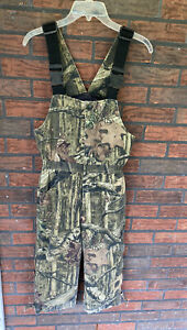 Russell Outdoors Hunting Flintock Overall Bib Small 6-8 Insulated Camo Fishing