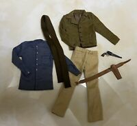 Custom 1/6 Scale Django Cowboy Unchained Clothes Sets Fit Hot toys body Iminime