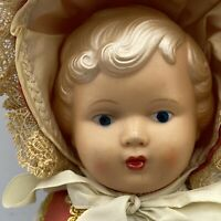 """10""""  Danish Dolls Costume Celluloid Doll Made In Denmark Tagged"""