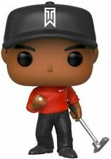 3 LOT TIGER WOODS GOLF PGA POP! red shirt FIGURES NEW IN THE BOXES!