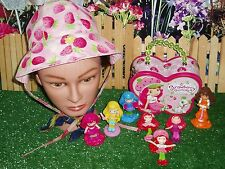 STRAWBERRY SHORTCAKE MINIATURES & I PLAY CHILD'S SUN HAT