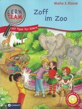 Lern T.E.A.M. + Mathe 3. Klasse + Zoff im Zoo + Lesen + Sticker +