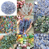 Lot Natural Crystal Stone Quartz Rocks Mineral Chips Healing Fish Tank Decor DIY