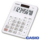 CASIO MX-8 CALCULATOR WHITE FOR OFFICE DESKTOP BUSINESS & STUDENTS - MX8 / MX8B