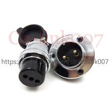 GX25 2Pin Flange Aviation Plug Socket Waterproof Connector, Electric Power Plug