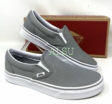 VANS Classic Slip On Wild Canvas Gray Women's Sneakers VN0003Z4LNQ