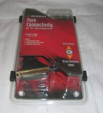 Nikkai 24k Gold Plated 1.5m Printer Lead Cable DB25 To C36 Centronics Parallel