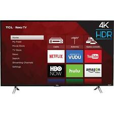 "TCL 65S405 65"" Class Smart LED 4K UHD HDR Roku TV With Wi-Fi"